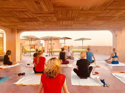 Retraite Yoga au Dar Hi Nefta