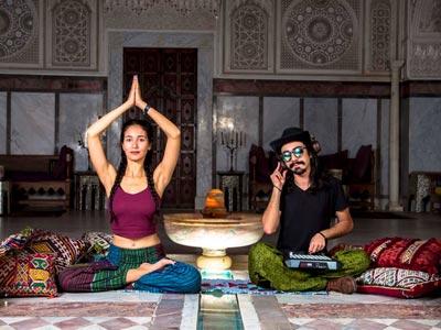 Séances de Yoga à Sidi Bou said par Rouhanyet