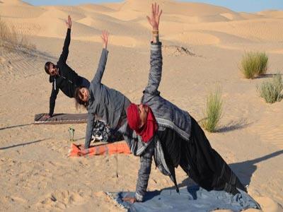 Un projet pilote : Tourisme de Yoga à Douz