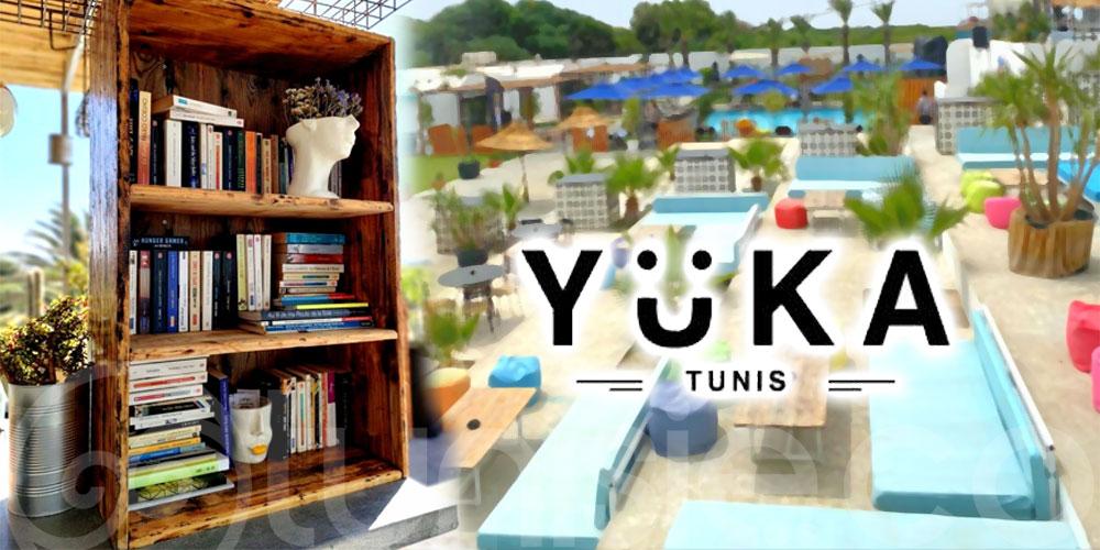 Découvrez le coin lecture cosy et calme de Yüka Tunis