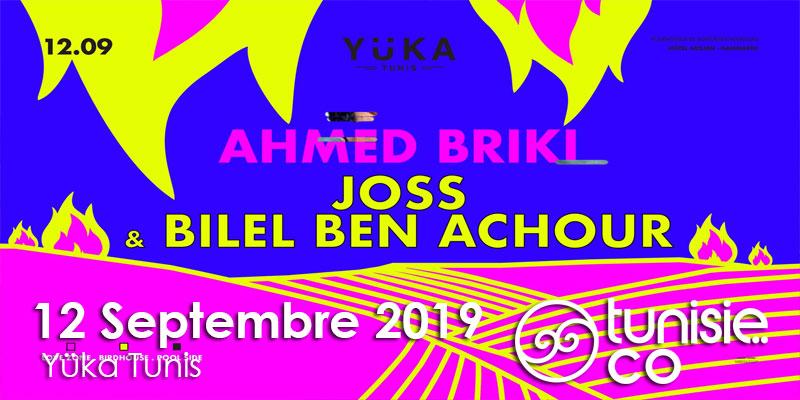 Ahmed Briki Joss & Bilel Ben Achour au Yüka le 12 Septembre 2019