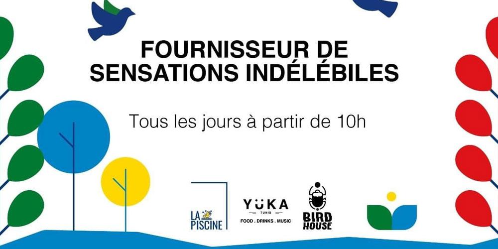 Yüka Tunis reporte tous les événements artistiques
