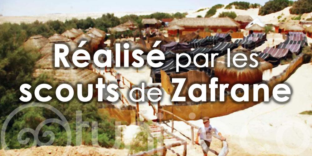 Projet d'un parc familial au centre de camping et de scoutisme à Douz