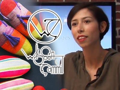 En vidéo : Découvrez l'univers riche en couleurs de la créatrice Wijden Zammit