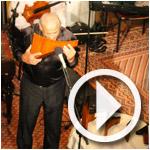 Extrait du spectacle de Gheorghe Zamfir (Roumanie) à l'ouverture de Musiqat 2012