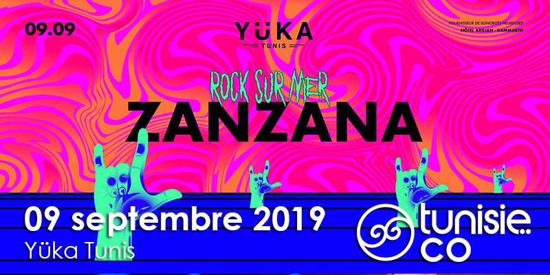 Rock sur mer : Live Concert Zanzana !