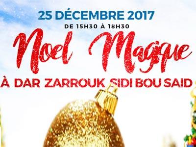 Noël s'annonce magique à Dar Zarrouk à Sidi Bou Saïd