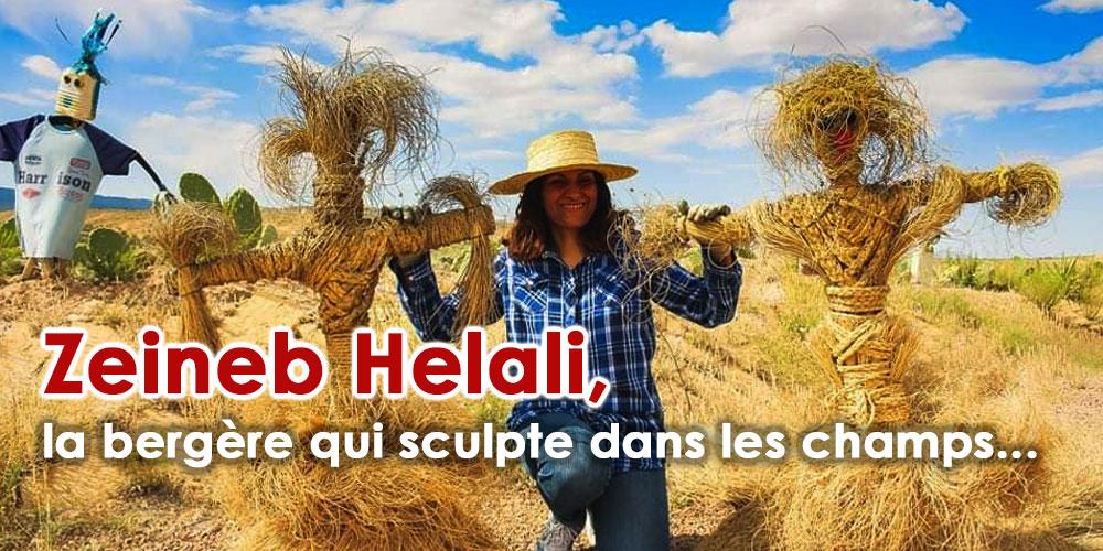 Zeineb Helali, la bergère qui sculpte dans les champs...
