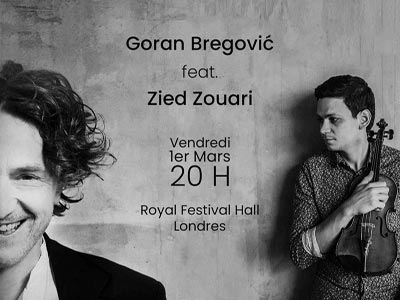 Zied Zouari en concert à Londres