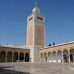 Mosquée Zitouna à la Médina de Tunis