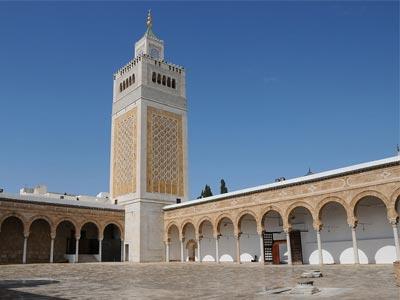En photos : La mosquée Zitouna fait peau neuve grâce aux travaux de rénovation