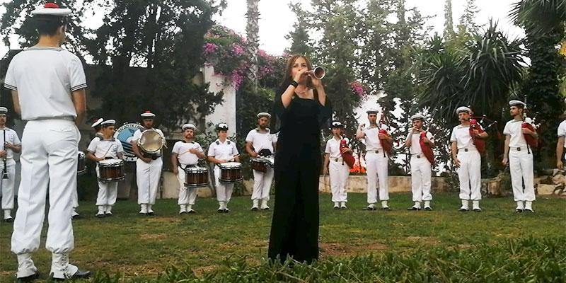 En vidéo : Quand La Zoukra Tunisienne rencontre la fanfare de la Marine Française
