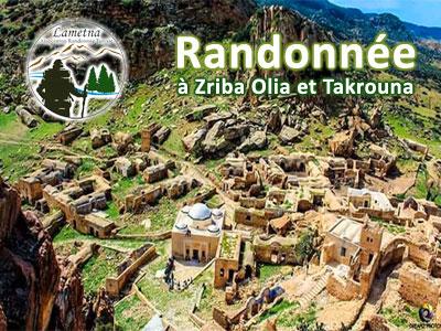 Randonnée à Zriba Olia et Takrouna