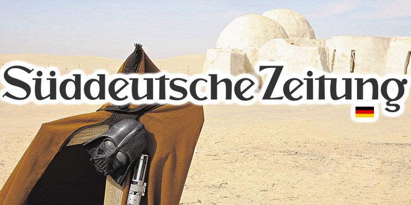 Quand Süddeutsche Zeitung fait l'éloge du site Star Wars !
