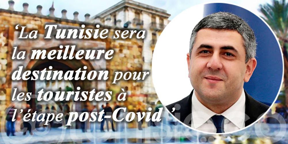 Zurab POLOLIKASHVILI: La Tunisie demeurera une destination touristique privilégiée sur le plan international