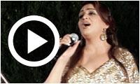 Chehrazade Helel à l'inauguration de Layali El Abdellia 2014