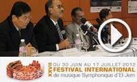 En vidéo: Programme de la 29ème édition du Festival International d'El Jem du 2 au 30 août 2014