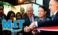 Inauguration du MIT 2013, le salon International du Tourisme