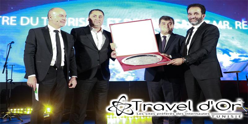 Prix spécial du Ministre du Tourisme lors des Traveldor : Voyages 2000 / Magic Hotels