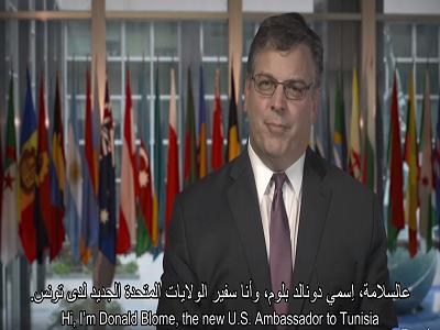 Le nouvel ambassadeur américain vous dit Asslema