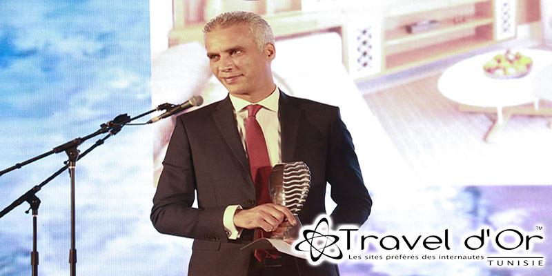 Hôtelier de l'année aux Traveldor 2019 : Ahmed Abdelkefi