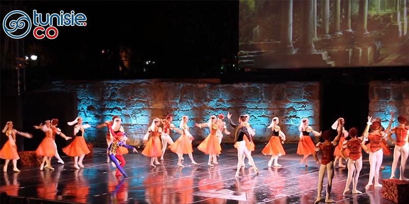 En vidéo: Le Lac des Cygnes du Ballet Saint-Pétersbourg au Festival de Carthage