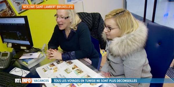 Les Belges se ruent sur les agences de voyages pour la Tunisie