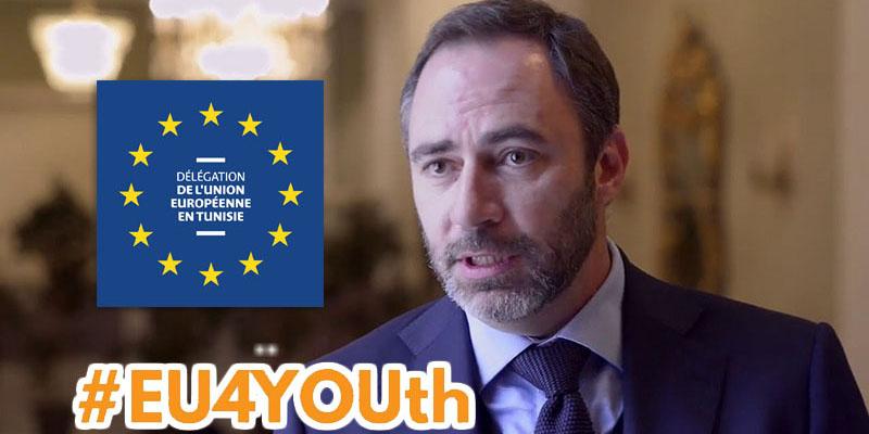 #EU4YOUth : Allocution de M. Patrice Bergamini Ambassadeur de l'UE