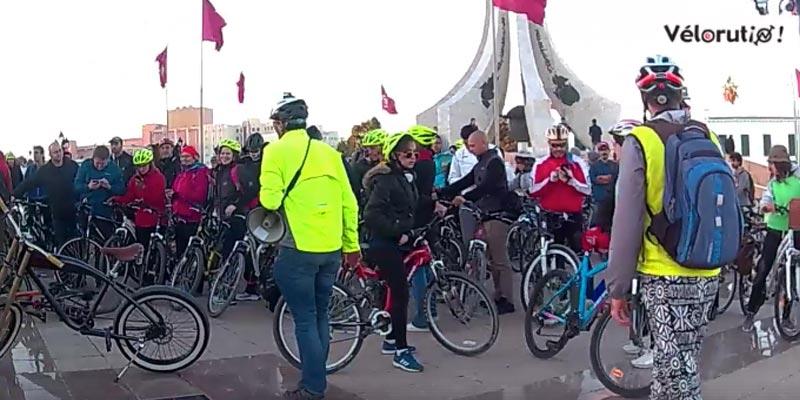 Quand Tunisie Vélorution fête la révolution sur Bicyclette à Tunis