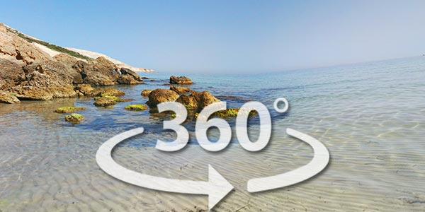 Découvrez la plage de Bizerte en 360° avec Google Street View