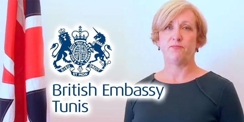 L'ambassadrice du royaume-uni s'adresse à ses ressortissants désirant un rapatriement