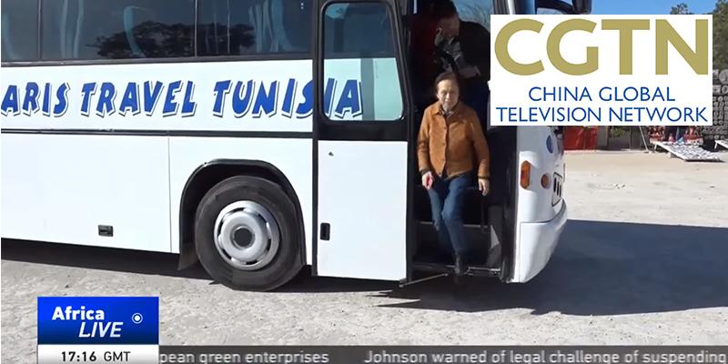 Reportage CGTN : La Tunisie peut accueillir 100 000 touristes chinois