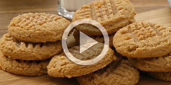 En vidéo : Recette Cookies à 3 ingrédients en 48 secondes !