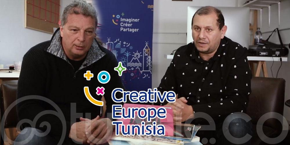 En vidéo: Abdelaziz Belkhodja et Seif Edine Nechi racontent le monde de la BD