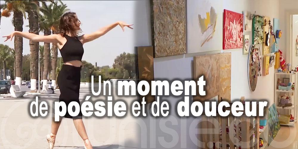 En vidéo: Un moment de poésie et de douceur avec deux artistes tunisiennes