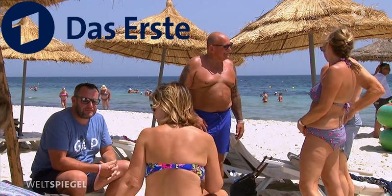 Reportage Das Erste : Les touristes allemands sont de retour en Tunisie