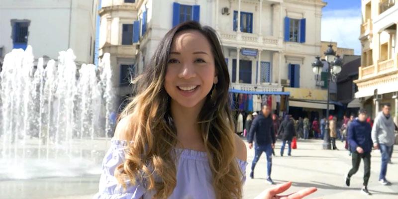 Quand la suédoise Denise Sandquist découvre la Tunisie pour la première fois