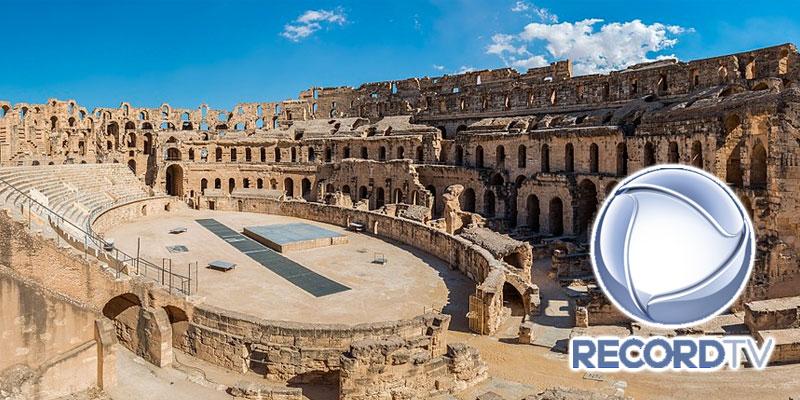 En vidéo : L'amphithéâtre d'El Jem sur la chaine brésilienne 'Record TV'