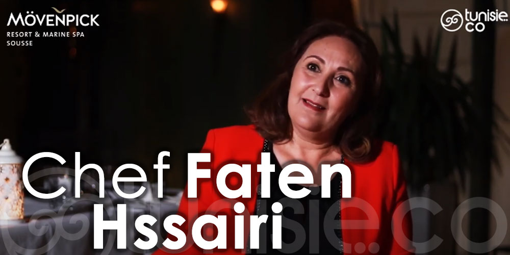 Interview du Chef Faten Hssairi au Mövenpick Resort & Marine Spa Sousse