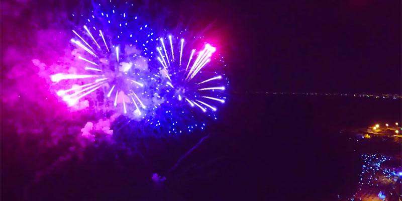 En vidéos : Le magnifique feu d'artifice du carnaval Aoussou 2018
