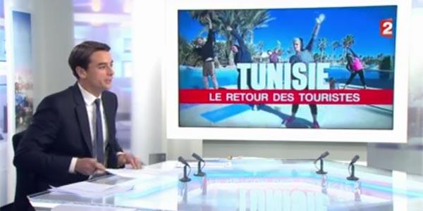 En vidéo : France 2 se penche sur le retour des touristes français à l'île de Djerba
