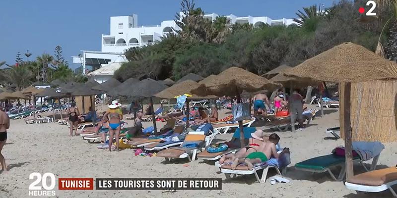 Reportage France 2 sur la Tunisie : Prix attractifs, sécurité renforcée...