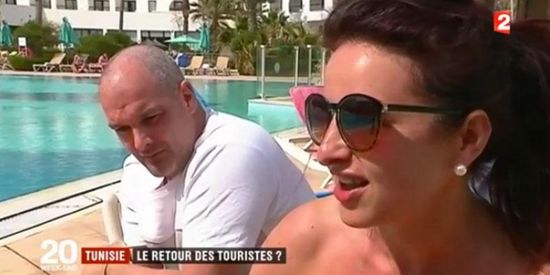 France 2 : Les Touristes français se sentent en Sécurité en Tunisie