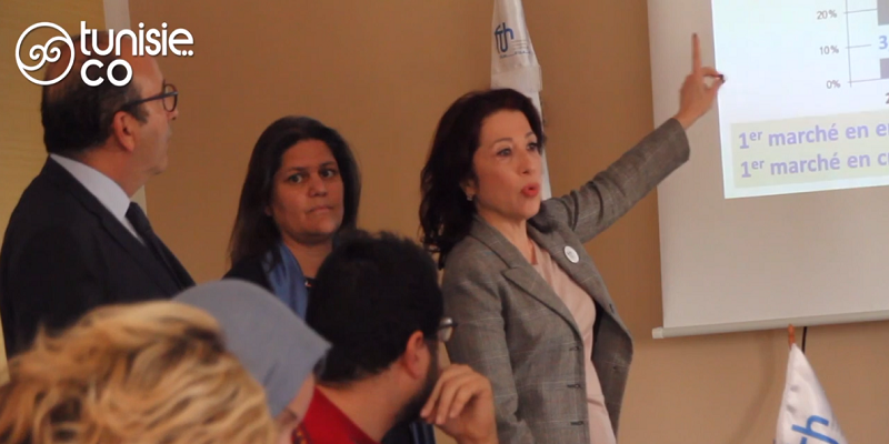 Allocution de Mme. Rym Belajouza, secrétaire générale de la Fédération Tunisienne de l'Hôtellerie