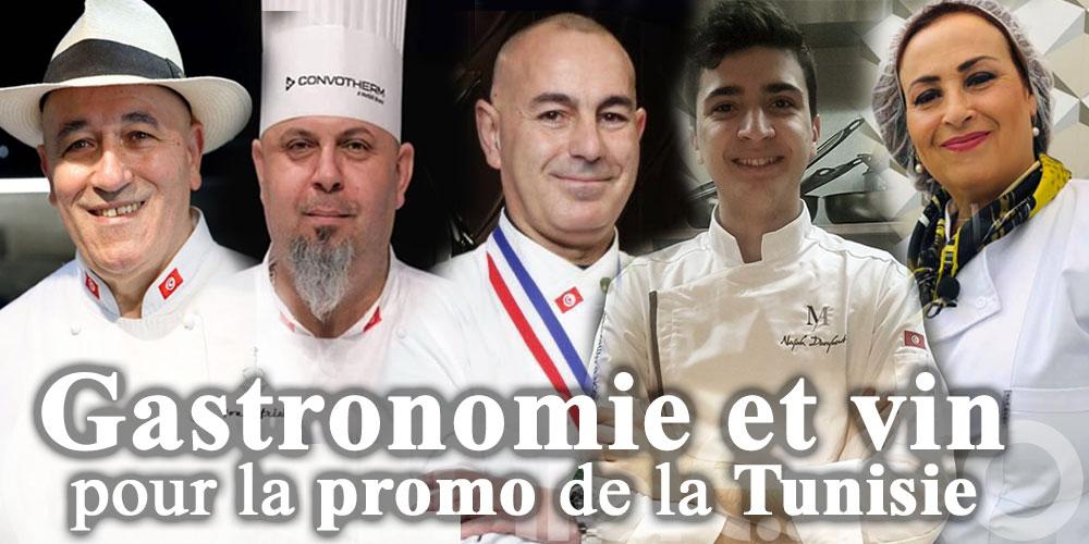 Gastronomie et vin pour la promo de la Tunisie