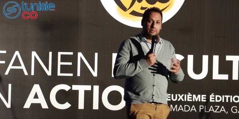 Ghassen Labidi parle du festival Tunis Scène Libre à l'event Tfanen