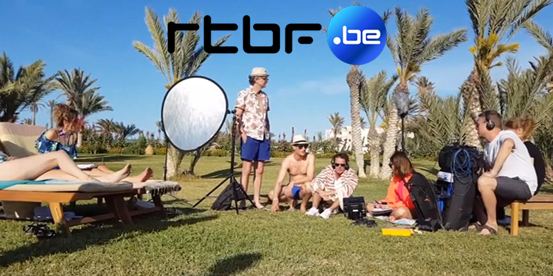 Le making-of du Grand Cactus en Tunisie sur RTBF