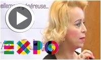 Mme Hager Benmami parle de la présence de l'Huile d'Olive à l'EXPO MILAN 2015