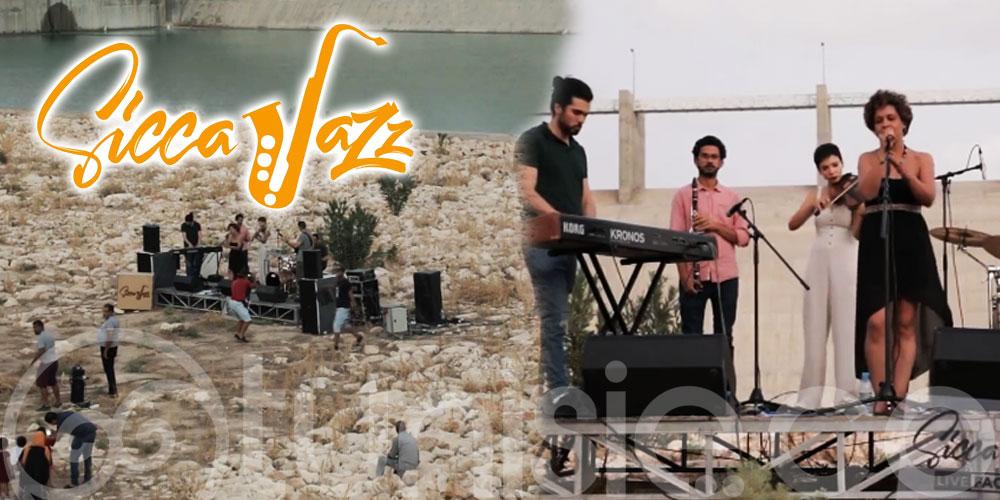 En vidéo : SiccaJazz, Imen Khayati chante l'amour au Barrage Sarrat