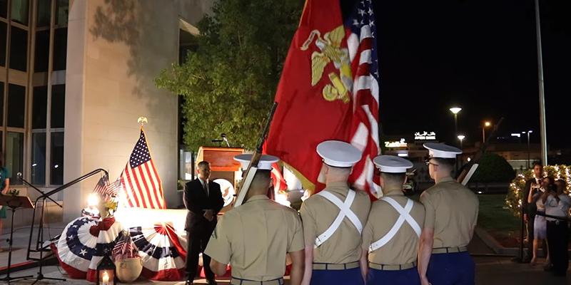 En vidéo: célébration de la fête nationale américaine en Tunisie